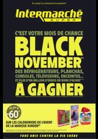Prospectus Intermarché Super Septèmes les Vallons : BLACK NOVEMBER