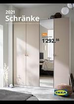 Prospectus IKEA : Schränke