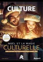 Journaux et magazines Auchan : Noël et la magie culturelle