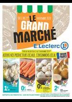 Prospectus E.Leclerc : LE GRAND MARCHÉ