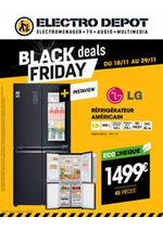 Promos et remises ELECTRO DEPOT : Offre Electrodepot Black Friday
