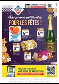Prospectus Leader Price La Celle-Saint-Cloud : Des promos pétillantes pour les fêtes !