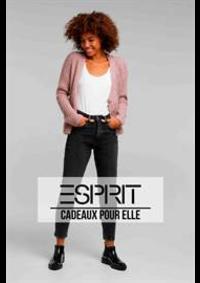 Prospectus Esprit Paris Rue de Mogador / Boulevard Haussmann 10-12 : Cadeaux pour elle