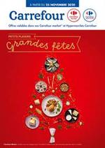 Prospectus Carrefour Market : Petits plaisirs Grandes fêtes !