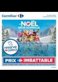 Prospectus Carrefour ANGERS C.C Grand Maine : Découvrez nos jouets de noël !