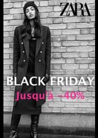 Catalogues et collections ZARA ANDERLECHT Westland Shopping Center : Jusqu'a 40% Zara Black Friday