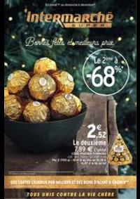 Prospectus Intermarché Super Chilly Mazarin : Bonnes fêtes et meilleurs prix