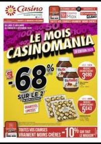 Prospectus Supermarchés Casino MAISONS ALFORT : Le mois Casinomania