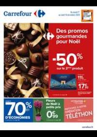 Prospectus Carrefour Drancy : Des promos gourmandes pour Noël