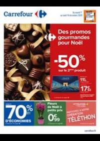 Prospectus Carrefour BESANCON Zone Commerciale Est : Des promos gourmandes pour Noël