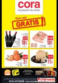 Prospectus Cora HORNU : les offres alimentaire du 01-12