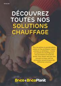 Prospectus Brico Plan-it Charleroi : Catalogue chauffage
