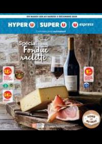 Prospectus Super U AUDINCOURT : SPÉCIAL FONDUE RACLETTE