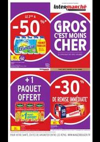 Prospectus Intermarché Super Champagnole : EN GROS VOLUME C'EST MOINS CHER