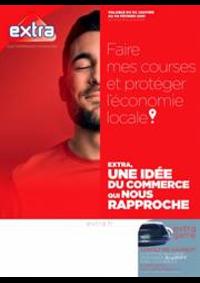 Prospectus EXTRA CHAMPAGNOLE : Extra, une idée du commerce qui nous rapproche