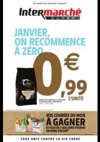 Prospectus Intermarché Super Champagnole : JANVIER, ON RECOMMENCE À ZÉRO