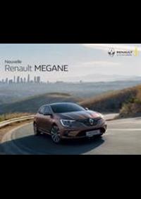 Prospectus Concession Renault CONCESSION RENAULT DE CHAMPAGNOLE : Nouvelle Renault Megane