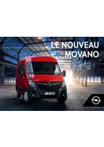 Guides et conseils Opel : Movano
