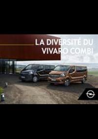 Guides et conseils Opel Gooik : Vivaro Combi