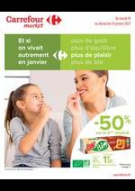 Prospectus Carrefour Market : Manger Sain