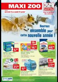 Prospectus Maxi zoo Anthy sur Leman : Pour le bonheur des animaux