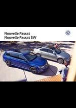 Prospectus  : Volkswagen Passat & Passat SW