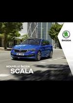 Prospectus Skoda : Catalogue Škoda SCALA