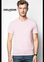 Prospectus Zadig et voltaire : Collection T-Shirts / Homme