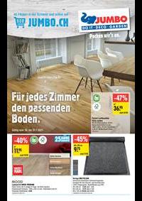 Prospectus Jumbo Maximo Bussigny : Extra: Bodenbeläge