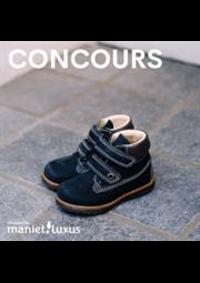 Prospectus Maniet ! Luxus Bruxelles : Concours