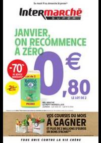 Promos et remises Intermarché Super Praz sur Arly : JANVIER, ON RECOMMENCE À ZÉRO