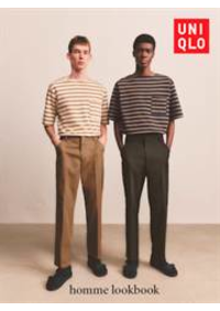 Prospectus Uniqlo So Ouest : Homme lookbook