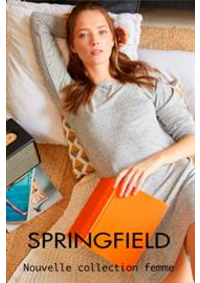 Prospectus Springfield PARIS 66 rue de Rivoli : Nouvelle collection femme