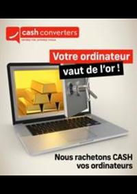 Prospectus Cash Converters Drogenbos : Offres