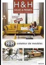 Prospectus H&H : SOLDES ET PROMOS