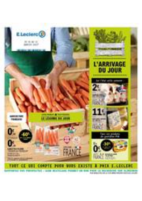 Prospectus E.Leclerc EPINAY SUR SEINE SAINT LEU : L'arrivage du jours