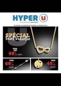 Prospectus Hyper U PONTARLIER : SPÉCIAL SAINT VALENTIN