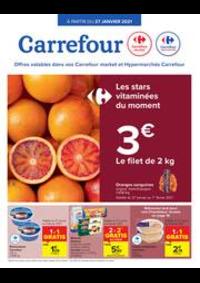 Prospectus Carrefour Market LA CHASSE - ETTERBEEK : folder Carrefour Market
