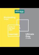 Prospectus Micasa : Pantone 2021