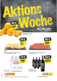Prospectus Coop Supermarché Allschwil - Lindenstrasse : Aktions Woche