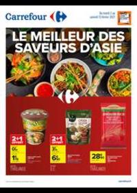 Prospectus Carrefour Drancy : Le meilleur des saveurs d'Asie