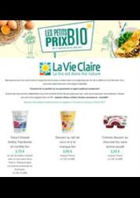 Prospectus La Vie Claire Paris 20 rue de l'Eglise : Les petits prix Bio