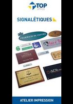 Services et infos pratiques Top office : Signalétiques