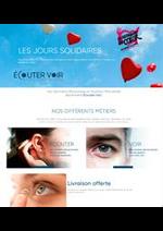 Prospectus Les opticiens mutualistes : Catalogue Écouter Voir