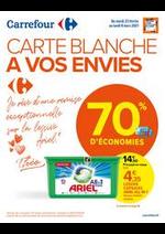 Prospectus Carrefour : CARTE BLANCHE A VOS ENVIES