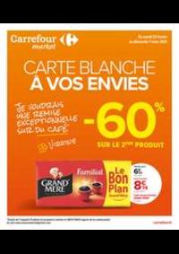 Prospectus Carrefour Market VIARMES : Carte Blanche à vos envies