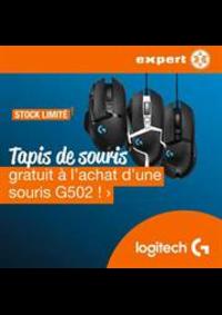 Prospectus Expert Farciennes : G502 Gaming muismat actie