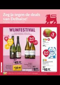 Prospectus Supermarché Delhaize Epinois : Folder Delhaize