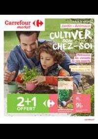 Prospectus Carrefour Market TOURCOING : CULTIVER SON CHEZ-SOI