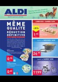 Prospectus Aldi WEPION - NAMUR  : Folder Aldi